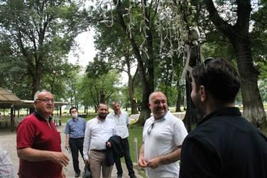 MÜSİAD Yeni Turizm Kaynakları ve Yatırımları Geliştirme Komisyonu Üyesi Hakan Bedir, Gölyaka?ya ziyaret gerçekleştirdi.