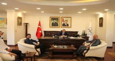 Sayın Valimiz Cevdet ATAY'a Hayırlı Olsun Ziyareti