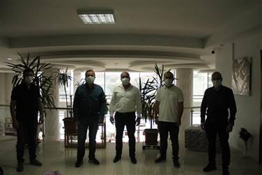 DÖNEM BAŞKANIMIZ İSMAİL ÇAKMAK' ZİYARET ETTİK